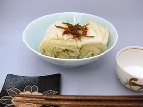 白菜漬物レシピ